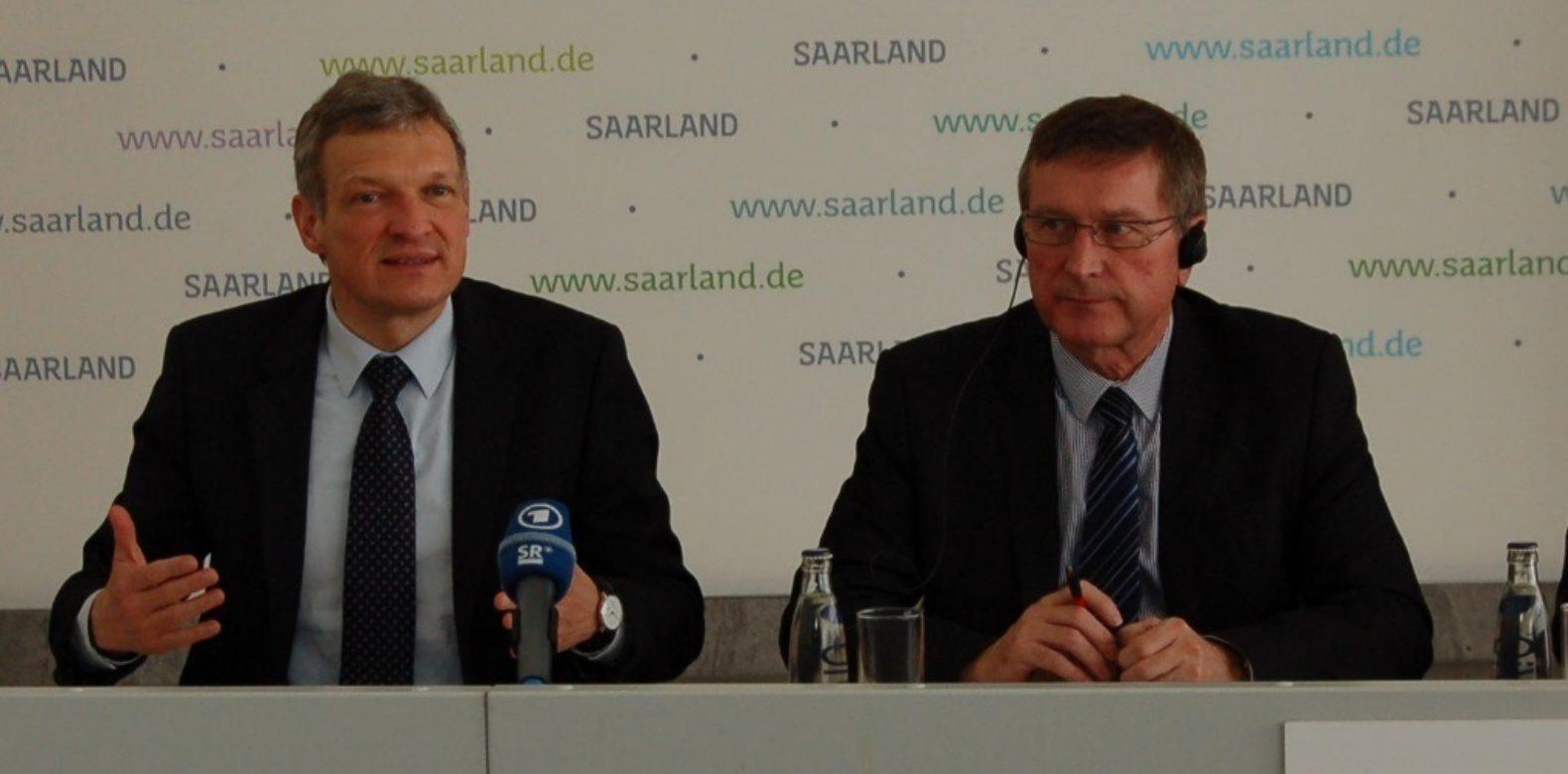Grande Région transfrontalière : rencontre avec le Ministre sarrois Stephan Toscani