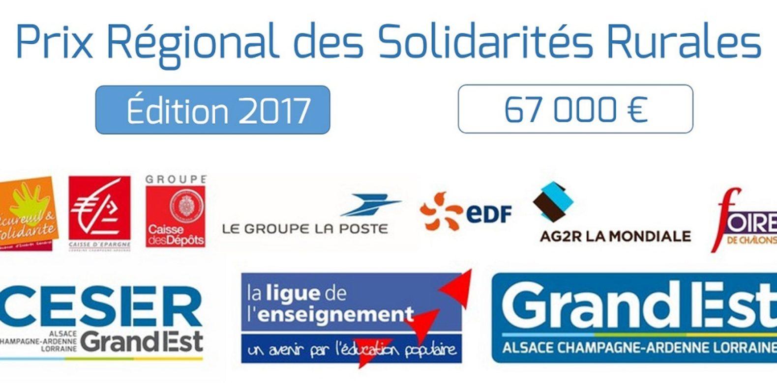 Prix Régional des Solidarités Rurales 2017