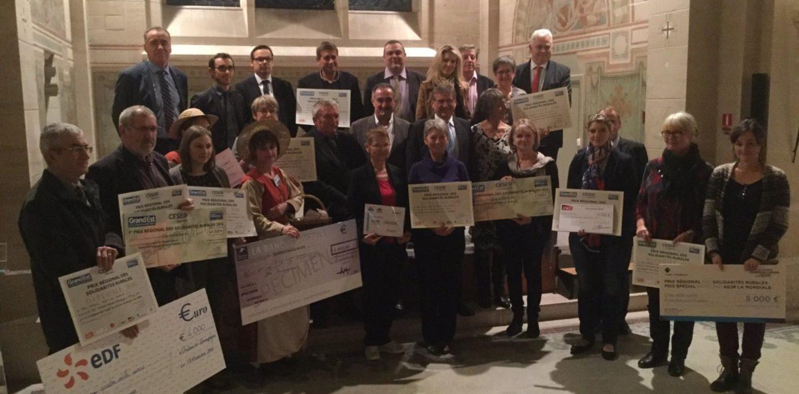 Prix Régional des Solidarités Rurales 2016
