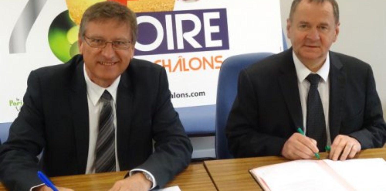 Colloque sur les mutations agricoles : la convention de partenariat est signée