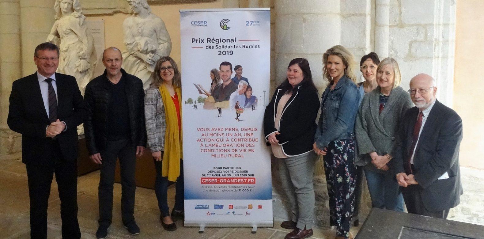 Prix Régional des Solidarités Rurales 2019