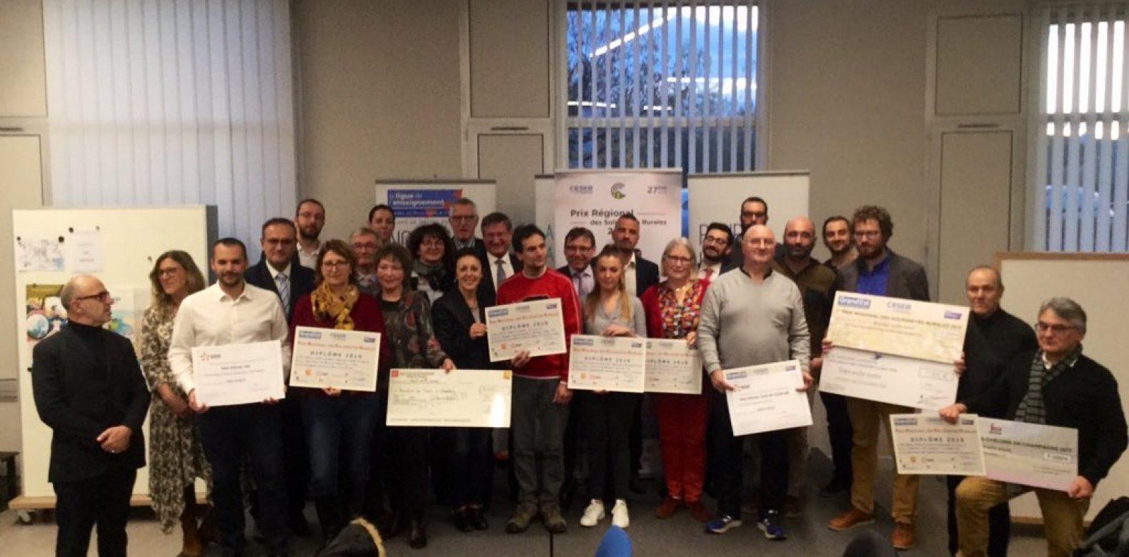 Prix Régional des Solidarités Rurales 2019 | Le Palmarès !