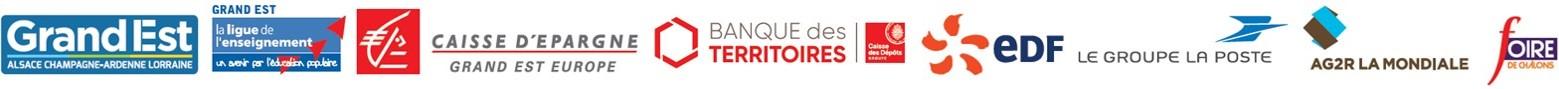 Logos partenaires PRSR 2020